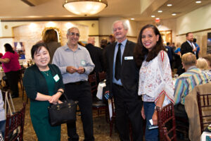Chino Valley Chamber Members at the 2021 Economic Forecast, Photo By: Grantromancia.com